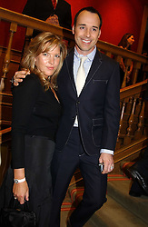 DIANA KRALL and DAVID FURNISH at '4 Inches' a project 'For Women about Women By Women' - A photographic Auction in aid of the Elton John Aids Foundation hosted by Tamara Mellon President of Jimmy Choo and Arnaud Bamberger MD of Cartier UK at Christie's, 8 King Street, London W1 on 25th May 2005.<br />