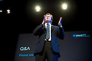 UK. Birmingham. David Cameron, Leader of the Conservative Party, gives a speech on Social Enterprise at the Voice09 conference organized by the Social Enterprise Coalition..Photo©Steve Forrest
