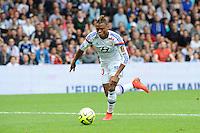 Clinton NJIE - 02.05.2015 - Lyon / Evian Thonon - 35eme journee de Ligue 1<br />Photo : Jean Paul Thomas / Icon Sport