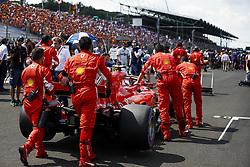 July 29, 2018 - Budapest, Hungary - Motorsports: FIA Formula One World Championship 2018, Grand Prix of Hungary, .#7 Kimi Raikkonen (FIN, Scuderia Ferrari) (Credit Image: © Hoch Zwei via ZUMA Wire)