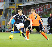 Dundee's Greg Stewart and United's Chris Erskine - Dundee United v Dundee at Tannadice<br /> - Ladbrokes Premiership<br /> <br />  - &copy; David Young - www.davidyoungphoto.co.uk - email: davidyoungphoto@gmail.com