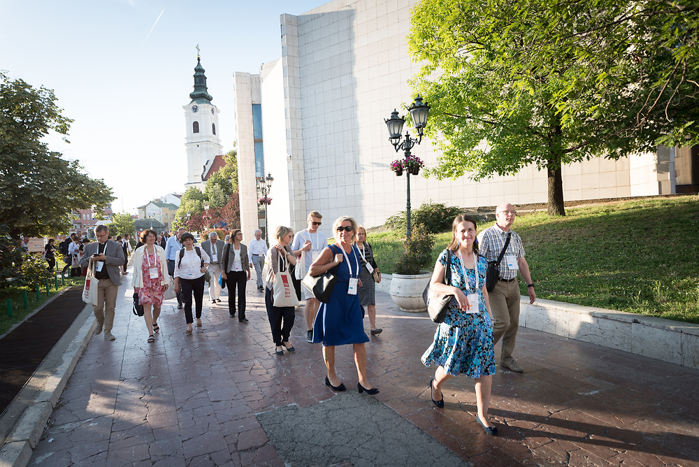31 May 2018, Novi Sad, Serbia: You Shall Be My Witnesses: Hundreds gathered today in Novi Sad for the CEC General Assembly.  After many months of preparation, more than 500 delegates, advisors, stewards, youth, staff, and distinguished guests have arrived in Novi Sad (Serbia) to take part in the 2018 General Assembly of the Conference of European Churches (CEC) and related events. On the evening of 31 May, an open-air worship in the city centre of Novi Sad set the tone for the spiritual life of the General Assembly.