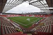 Rotherham Uniteds stadium before the Sky Bet Championship match between Rotherham United and Birmingham City at the New York Stadium, Rotherham, England on 13 February 2016. Photo by Ian Lyall.