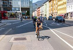 25.04.2018, Innsbruck, AUT, ÖRV Trainingslager, UCI Straßenrad WM 2018, im Bild Mario Gamper (AUT) // during a Testdrive for the UCI Road World Championships in INNSBRUCK, Austria on 2018/04/25. EXPA Pictures © 2018, PhotoCredit: EXPA/ JFK
