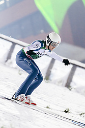 February 8, 2019 - Lahti, Finland - Mackenzie Boyd-Clowes participates in FIS Ski Jumping World Cup Large Hill Individual training at Lahti Ski Games in Lahti, Finland on 8 February 2019. (Credit Image: © Antti Yrjonen/NurPhoto via ZUMA Press)