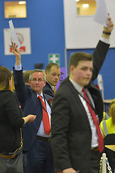 SCOTTISH PARLIAMENTARY ELECTION 2016 – Party agents during the counting of votes at Royal Highland Centre, Edinburgh<br />(c) Brian Anderson | Edinburgh Elite media