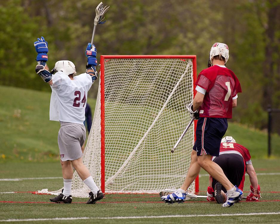 Taft School-Alumni Weekend 2013- Taft Alumni Lacrosse celebrating 50 years of Lacrosse at Taft. (Photo by Robert Falcetti)