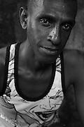 Zanzibar Town, Zanzibar -   2015-03-26  -  A recovering addict at the Trent Sober House in Zanzibar Town, Zanzibar on March 26, 2015.  Photo by Daniel Hayduk