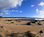 Papohaku Beach, Molokai, Hawaii, USA<br />