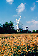 A windmill in Suffolk, England