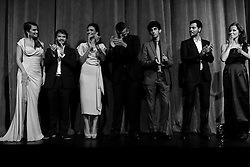 The cast of 'Twice Born' on stage for the premiere during the 2012 Toronto International Film Festival at Roy Thomson Hall, September 13th 2012.  Photo by David Tabor/ i-Images.