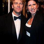 NLD/Amsterdam/20081208 - Premiere Wit Licht, Anthonie Kamerling en partner Isa Hoes