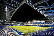 General stadium view during the EFL Sky Bet Championship match between Brighton and Hove Albion and Ipswich Town at the American Express Community Stadium, Brighton and Hove, England on 14 February 2017. Photo by Shane Healey.