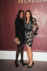 Left to right, Dalal Elhabashi and Alex Meyers at the Krug Mindshare auction held at Sotheby's, New Bond Street, London on 1st November 2010.