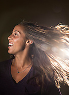 BRADENTON BEACH, FL - JULY 19, 2016:  <br /> <br /> Professional tennis player -- and soon to be Olympian -- Madison Keys, 21, keeps it looking natural with her beauty routine. <br /> <br /> (Photo by Melissa Lyttle for the New York Times)