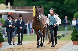 Newton Willa (GBR) - Neelix<br /> Horse Inspection <br /> CCI4*  Luhmuhlen 2014 <br /> © Hippo Foto - Jon Stroud
