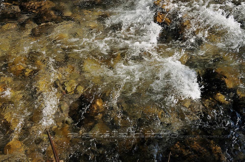 Moving stream in Carinthia.
