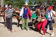 Dancing in Kilometro Cero, Cueto, Holguin, Cuba.