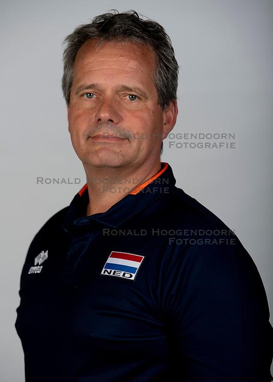 14-05-2018 NED: Team shoot Dutch volleyball team men, Arnhem<br /> Coach Gido Vermeulen