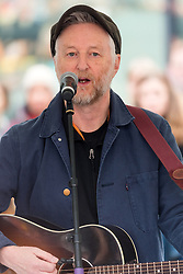 © Licensed to London News Pictures. 05/03/2017. Musician BILLY BRAGG takes part in a rally raising awareness of women and girls in third world countries who spend days walking for water. March also marks CARE's annual celebration for International Women's Day. London, UK. Photo credit: Ray Tang/LNP