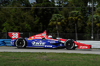 Graham Rahal, INDYCAR Spring Training, Sebring International Raceway, Sebring, FL 03/05/12-03/09/12