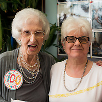 Images from Millie's 100th Birthday at Jewish Care Stepney Community Centre. <br /> (C) Blake Ezra Photography 2017 www.blakeezraphotography.com