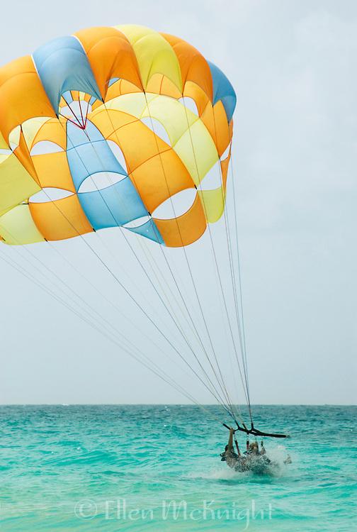 Parasailing in the Punta Cana