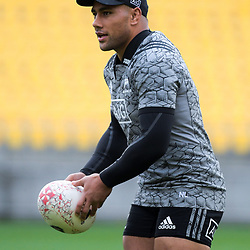 Ngani Laumape. All Blacks training at Westpac Stadium in Wellington, New Zealand on Thursday, 14 June 2018. Photo: Dave Lintott / lintottphoto.co.nz