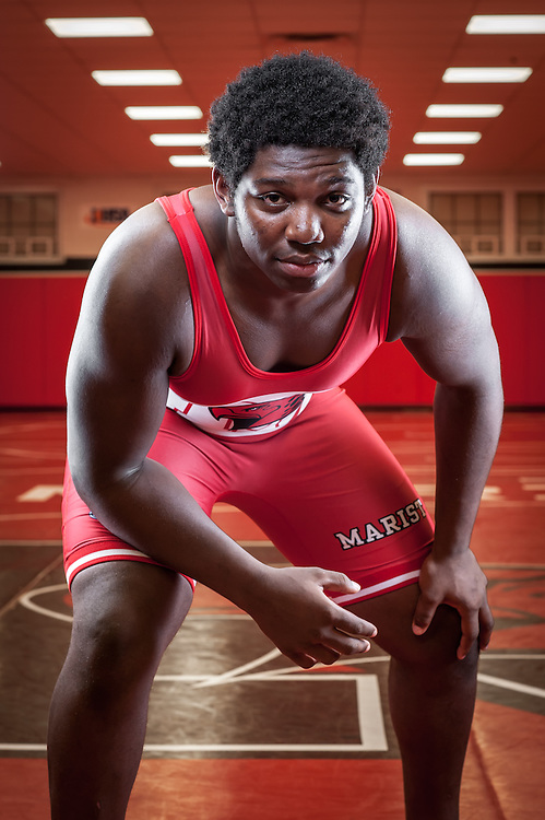 Marist High School 2015 Wrestling Sports Photography. Chicago, IL. Chris W. Pestel Chicago Sports Photographer.