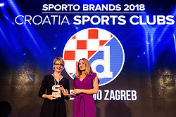 Dinamo Zagreb at Sports Awards & Brands ceremony during Sports marketing and sponsorship conference Sporto 2018, on November 22, 2017 in Hotel Slovenija, Congress centre, Portoroz / Portorose, Slovenia. Photo by Vid Ponikvar / Sportida