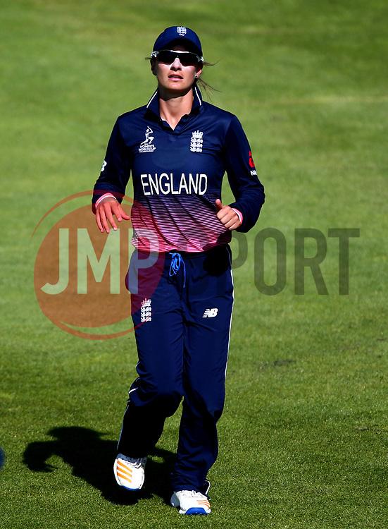 Danielle Wyatt of England - Mandatory by-line: Robbie Stephenson/JMP - 05/07/2017 - CRICKET - County Ground - Bristol, United Kingdom - England Women v South Africa Women - ICC Women's World Cup Group Stage