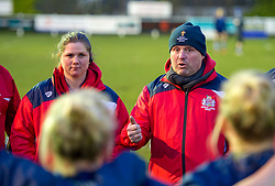 Dave Hilton of Bristol Ladies - Mandatory by-line: Paul Knight/JMP - 24/03/2018 - RUGBY - Cleve RFC - Bristol, England - Bristol Ladies v DMP Sharks - Tyrrells Premier 15s