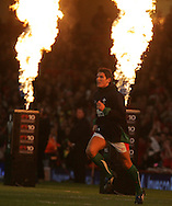 James Hook of Wales. Invesco Perpetual series, Wales v Australia at the Millennium Stadium on Saturday 28th Nov 2009.  pic by Andrew Orchard, Andrew Orchard sports photography, .EDITORIAL USE ONLY