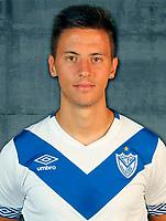 Argentina Football League First Division - Axion Energy 2016-2017 / <br /> Club Atletico Velez Sarsfield - <br /> Nicolas Tripichio