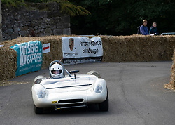 Boness Revival hillclimb motorsport event in Boness, Scotland, UK. The 2019 Bo'ness Revival Classic and Hillclimb, Scotland's first purpose-built motorsport venue, it marked 60 years since double Formula 1 World Champion Jim Clark competed here.  It took place Saturday 31 August and Sunday 1 September 2019. 74. John Albiston. Lotus 23b