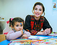 Queen Rania Visits Ma'an