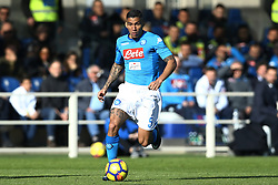 January 21, 2018 - Bergamo, Italy - Allan Loudeiro of Napoli  during the Italian Serie A football match Atalanta Vs Napoli on January 21, 2018 at the 'Atleti Azzurri d'Italia Stadium' in Bergamo. (Credit Image: © Matteo Ciambelli/NurPhoto via ZUMA Press)