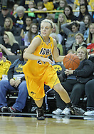 December 30, 2011: Iowa Hawkeyes guard Jaime Printy (24) with the ball during the NCAA women's basketball game between the Northwestern Wildcats and the Iowa Hawkeyes at Carver-Hawkeye Arena in Iowa City, Iowa on Wednesday, December 30, 2011.