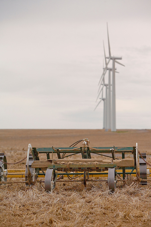 Farm Implement and Wind Turbine
