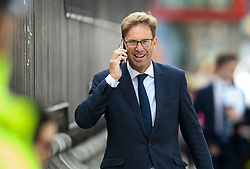 © Licensed to London News Pictures. 04/09/2019. London, UK. Conservative MP TOBIAS ELLWOOD is seen at the Houses of Parliament in Westminster, London. British Prime Minister Boris Johnson has a called for a general election after losing his first commons vote and losing his majority, removing his control of parliament. Photo credit: Ben Cawthra/LNP