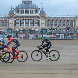 09-12-2018: Wielrennen: EK beachrace: Scheveningen<br />Tussen Scheveningen en Katwijk werd gestreden om de Europese titels Beachrace