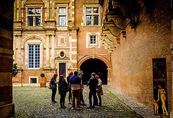 The Société Archéologique du Midi de la France - The courtyard of the Archaeological Museum in Toulouse, France<br /> <br /> (c) Andrew Wilson | Edinburgh Elite media