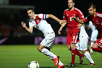 Football - FIFA World cup 2014 - Qualifying Group D - Andorra v Netherlands on September 10, 2013 in Andorra La Vella, Andorra - Photo Manuel Blondeau / AOP Press / DPPI - Robin Van Persie of Netherlands