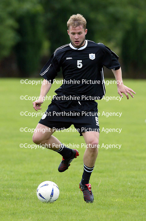 St Johnstone training...12.07.04<br />Kevin Rutkiewicz<br /><br />Picture by Graeme Hart.<br />Copyright Perthshire Picture Agency<br />Tel: 01738 623350  Mobile: 07990 594431