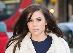 © Licensed to London News Pictures. 15/12/2011. London, UK.  Former Big Brother star Imogen Thomas arriving at the High Court today (15/12/2011) to listen to a statement being read in relation to to an injunction granted earlier this year to a married footballer. Photo credit: Ben Cawthra/LNP