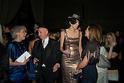 STEPHEN JONES; L'WREN SCOTT; SARAH MOWER, British Fashion Awards Ceremony. Supported by Swarovski and organised by British Fashion Council. Lawrence Hall. Greycoat St. London SW1. 25 November 2008 *** Local Caption *** -DO NOT ARCHIVE-© Copyright Photograph by Dafydd Jones. 248 Clapham Rd. London SW9 0PZ. Tel 0207 820 0771. www.dafjones.com.