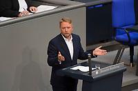 DEU, Deutschland, Germany, Berlin, 05.09.2017: Jan Korte (DIE LINKE) bei einer Rede im Deutschen Bundestag.
