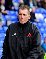 Bristol Rovers goal keeping coach, Stuart Naylor - Photo mandatory by-line: Neil Brookman/JMP - Mobile: 07966 386802 - 08/11/2014 - SPORT - Football - Birkenhead - Prenton Park - Tranmere Rovers v Bristol Rovers - FA Cup - Round One