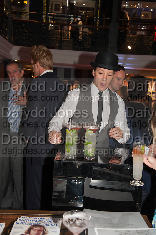 The Gentleman's Journal Autumn Party, in partnership with Gieves and Hawkes- No. 1 Savile Row London. 3 October 2013