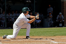 17 April 2016:  Seth Palmby during an NCAA division 3 College Conference of Illinois and Wisconsin (CCIW) Pay in Baseball game during the Conference Championship series between the North Central Cardinals and the Illinois Wesleyan Titans at Jack Horenberger Stadium, Bloomington IL